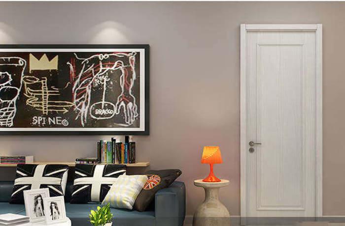 White Wooden Door - 31232080284 B