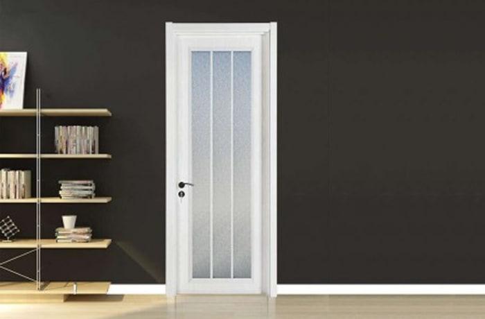 White Wood and Glass Door - 31232080284 C