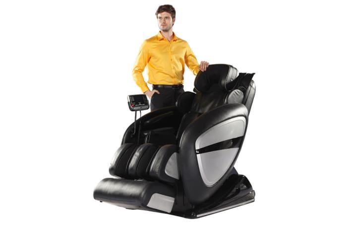 Zero-gravity space capsule massage chair