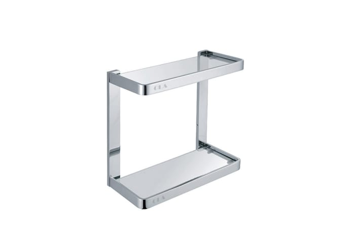Bathroom shelf - Polished chrome shower caddy 28210#