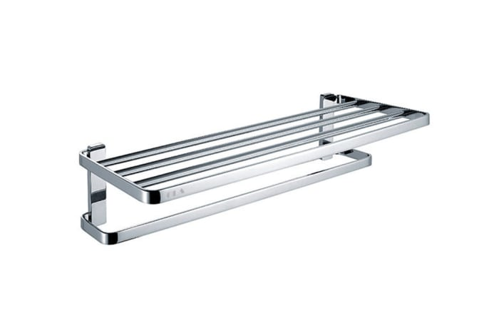 Towel Racks - Polished chrome towel rack 73211#