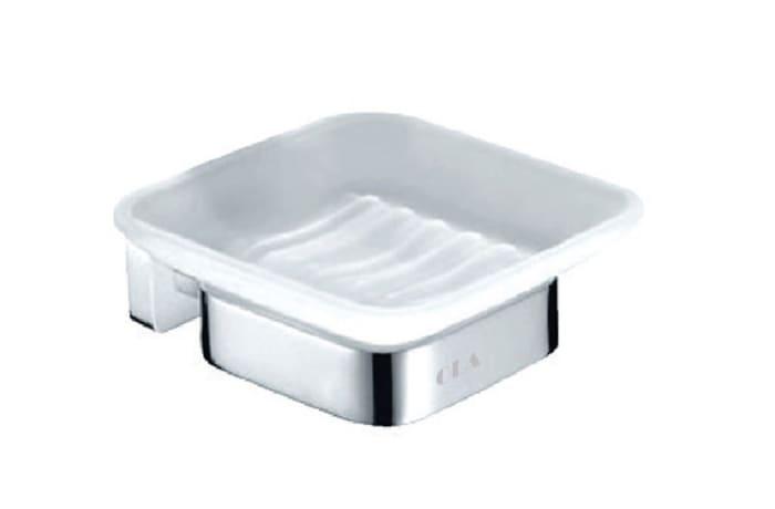 Bathroom soap holder - Polished chrome copper soap holder 73004#