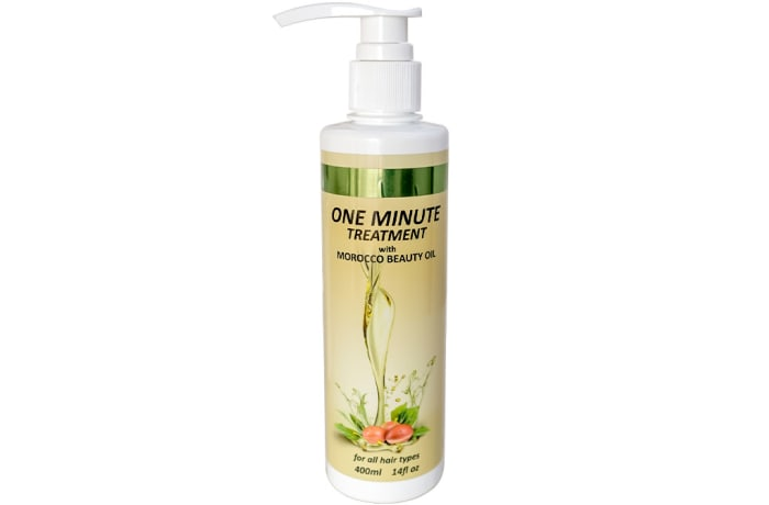 One Minute Hair Treatment  with Morocco Beauty Oil 400ml
