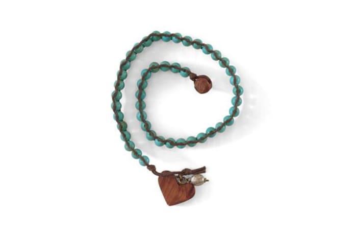 Organic heart bracelet