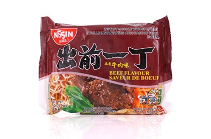 Beef Flavour Instant Ramen Noodles from Nissin 100g
