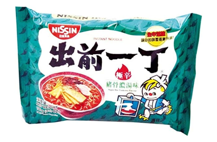 Best Hot Tonkotsu Instant Ramen Noodles from Nissin