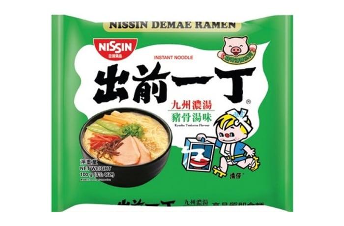 Best Kyushu Tonkotsu Instant Ramen Noodles from Nissin
