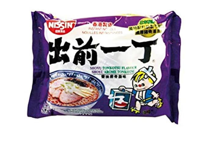 Best Tokyo Shoyu Flavour Instant Ramen Noodles from Nissin