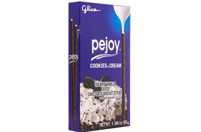 Glico Pejoy Cookie and Cream Biscuits 44g
