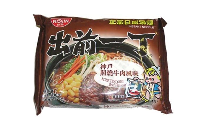 Kobe Terriyaki Beef Instant Ramen Noodles from Nissin 100g