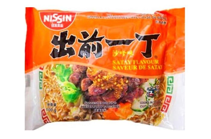 Nissin Brand Instant Noodles Satay Flavour  100g