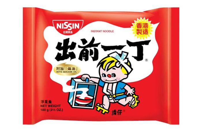 Nissin Brand Instant Noodles Sesame Oil