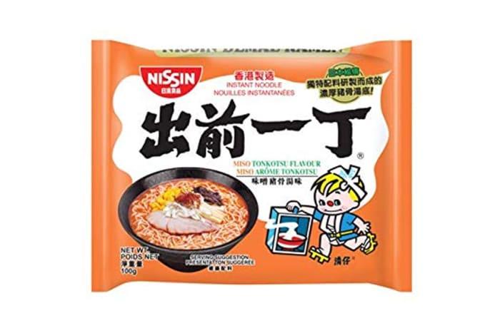 Nissin Brand Miso Tonkotsu Ramen Instant Noodles