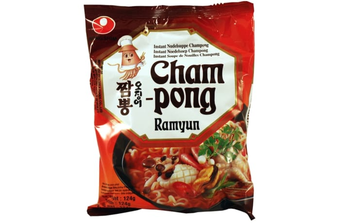 Nong Shim Cham Pong Seafood, Seaweed Instant Ramen