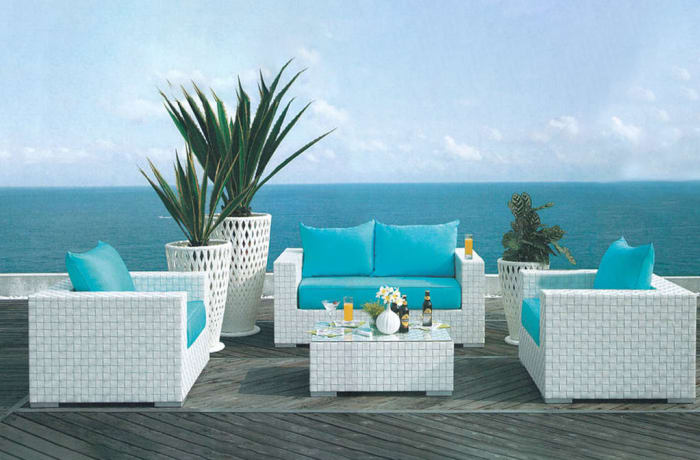 Outdoor Furniture  Sofa and Table set- Model HD-A053