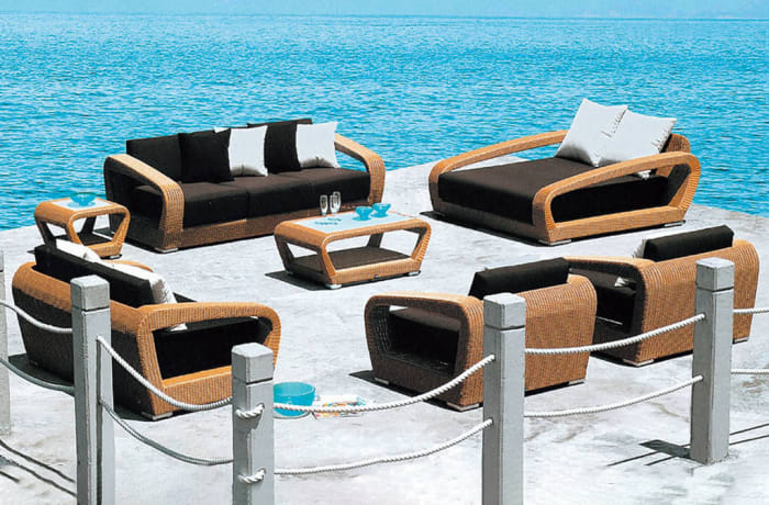 Outdoor Furniture  Sofa and Table set- Model HD-A058