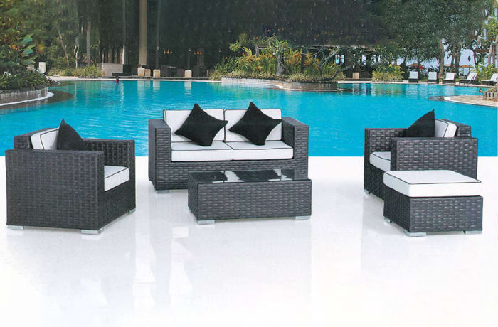 Outdoor Furniture  Sofa and Table set- Model HD-A080