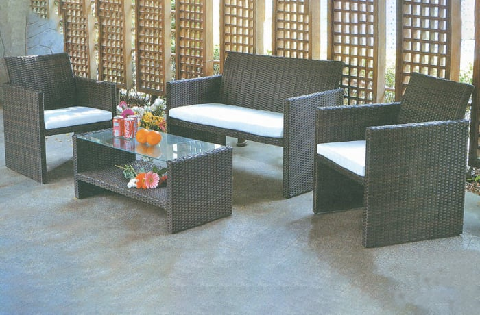 Outdoor Furniture  Sofa and Table set- Model HD-A100