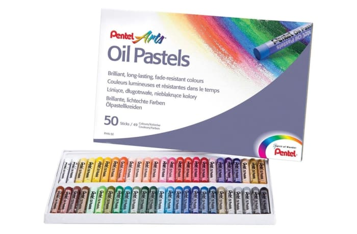 PHN-50 Pastel Arts Oil Pastels