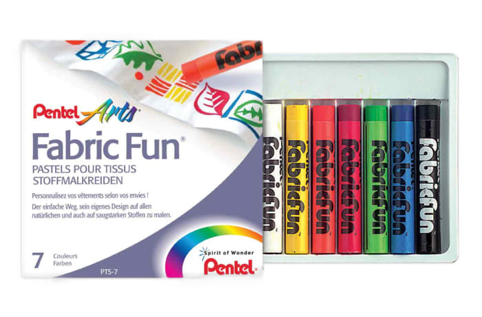 PTS-7 Pentel Arts Fabric Fun Dye Sticks