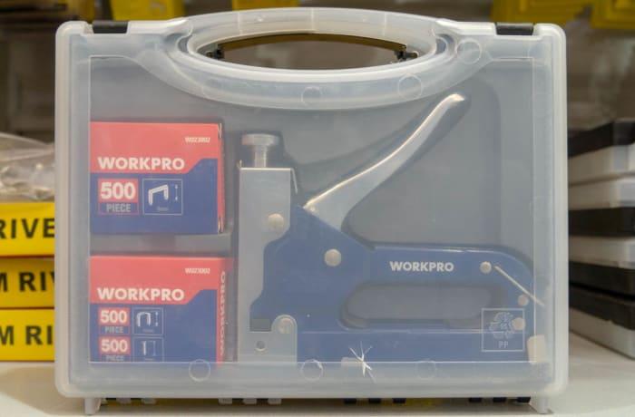 Workpro Staple Gun Set 3 in 1