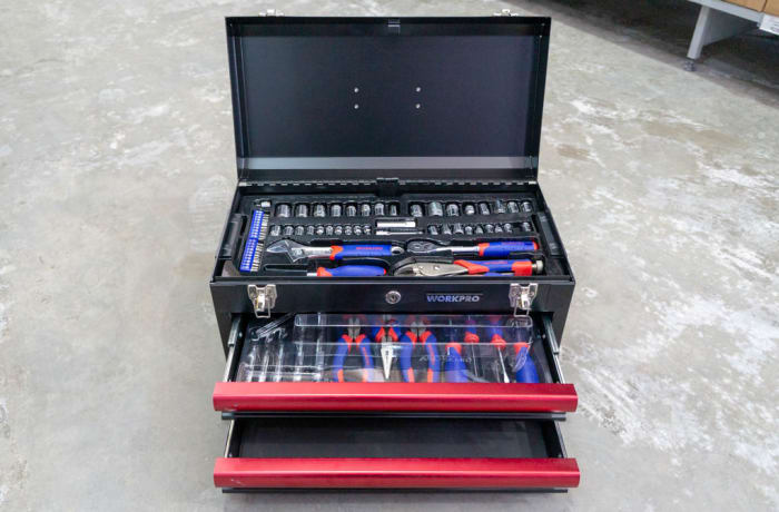 Workpro 76 Piece Tool Kit
