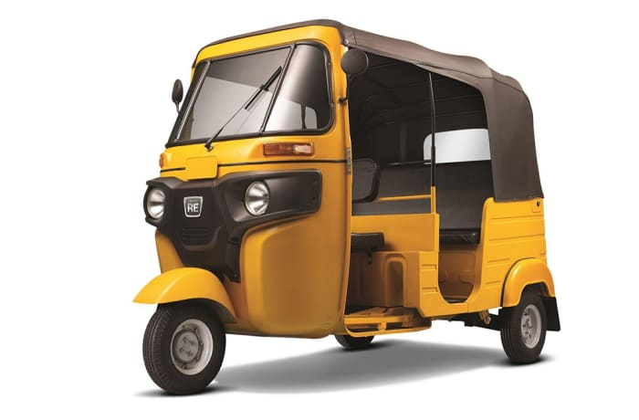 PVT Bajaj RE 4S Passenger