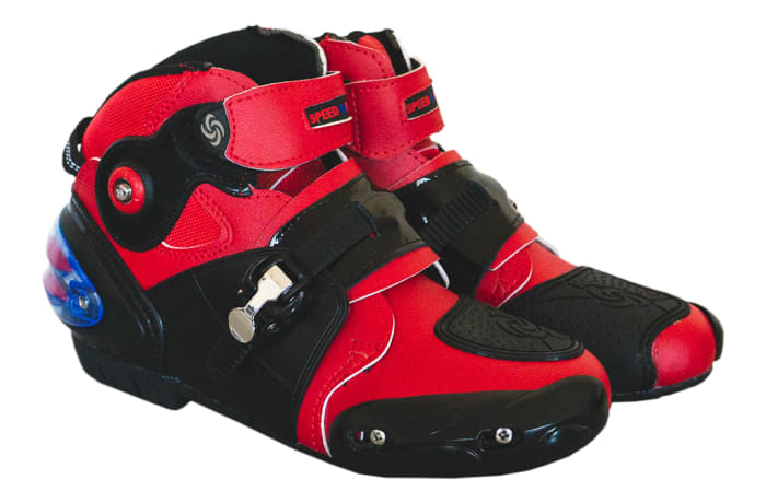 Motorcycle & Auto Racing Wear -  PVT Boots-Speed Low Cut
