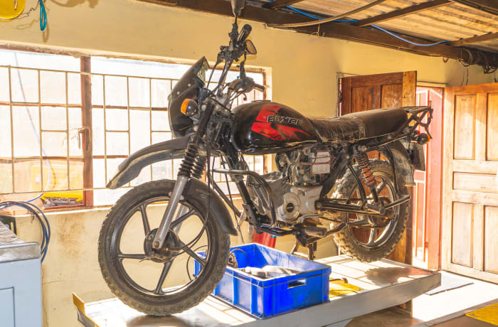 Are you looking for mechanics you can trust to fix your Bajaj motorcycle? image