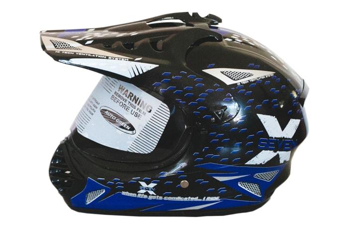 Motorcycle Helmet - PVT Helmet-Autogreen X7