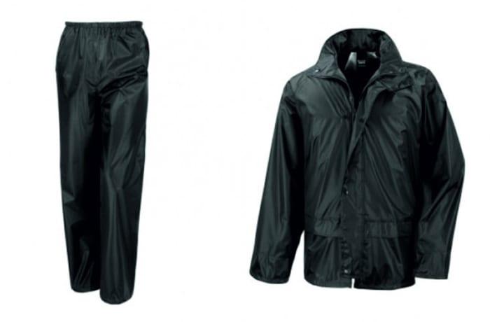 PVT Rain Suit-BCS Duck Look