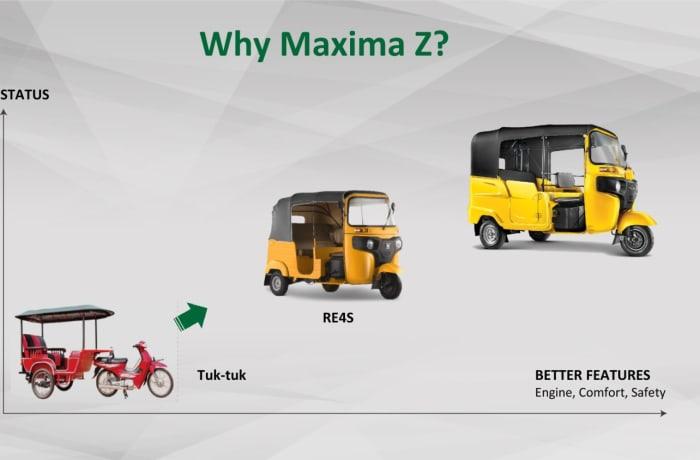 Introducing to you Bajaj Maxima, an upgrade of Bajaj Auto Rickshaw image