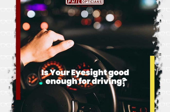 Is your eyesight good enough for driving? image
