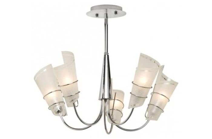Chandeliers & Pendant Lights - JH103 Chandelier-Scroll 5-Light