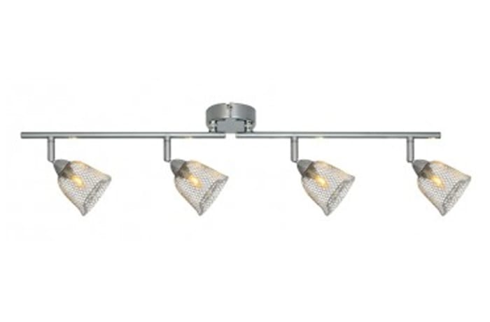 LED Ceiling Light - EX0010CH 4LT Spot Bar Mesh CH G9