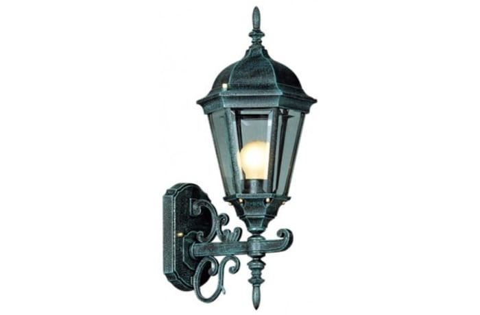 Outdoor Wall Lamps - LS230 Thames 6 Panel Up Small