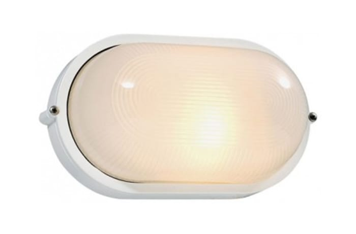 Outdoor Wall Lamps - WO20A Bulkhead-Oval Large Plain