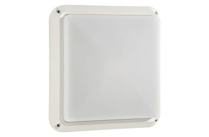 Outdoor Wall Lamps - WQ20 Bulkhead-Square Polycarb