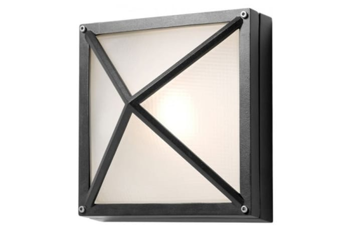 Outdoor Wall Lamps - WQO7G Bulkhead-Square Small Grid