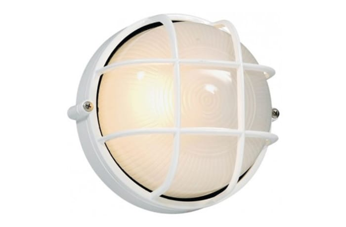 Outdoor Wall Lamps - WT1G Bulkhead-Round Small Grid