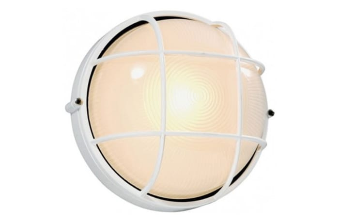 Outdoor Wall Lamps - WT2G Bulkhead-Round Large Grid
