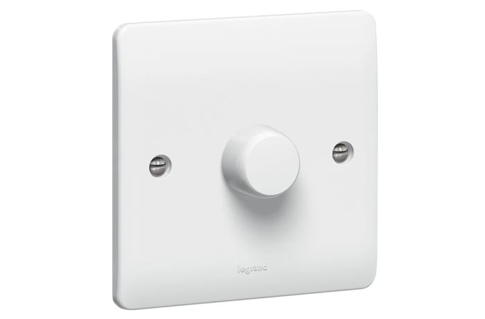 Wall Switches - 1000W Push ON/OFF Rotary Dimmer