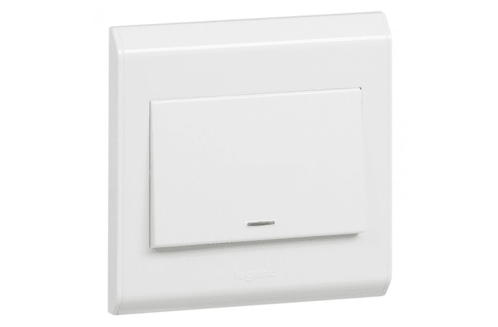 Wall Switches - 20 A Double Pole with Neon & Earth Connection
