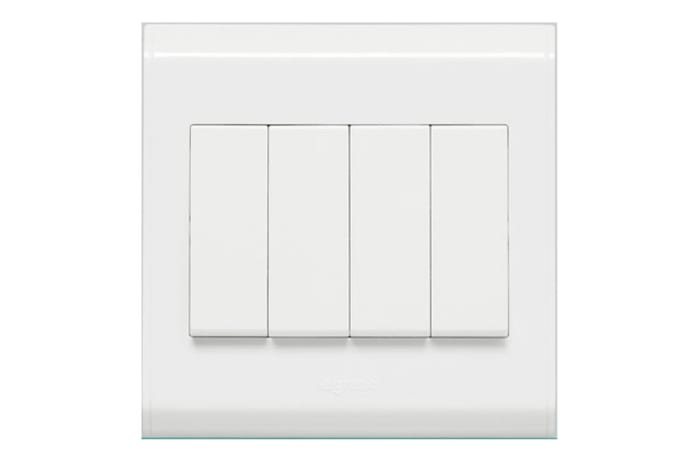 Wall Switches - 4 Gang Switch