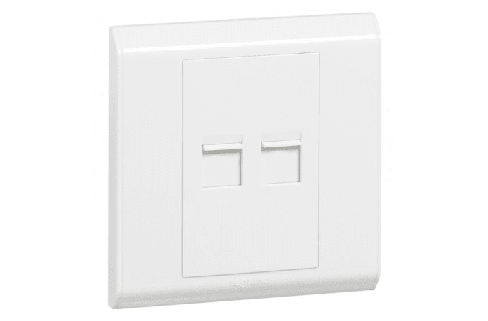 Wall Switches - Double RJ45 Socket