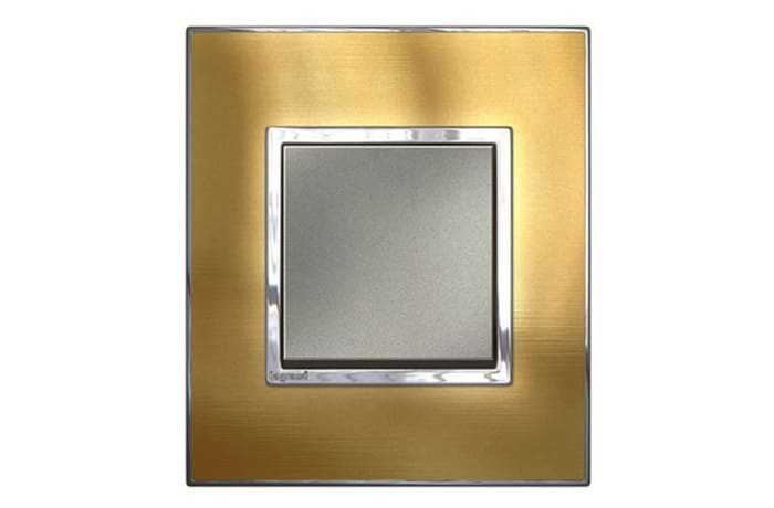 Wall Switches - Metal Gold Brass