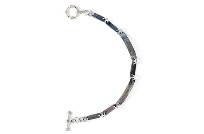 Plain snare links bracelet
