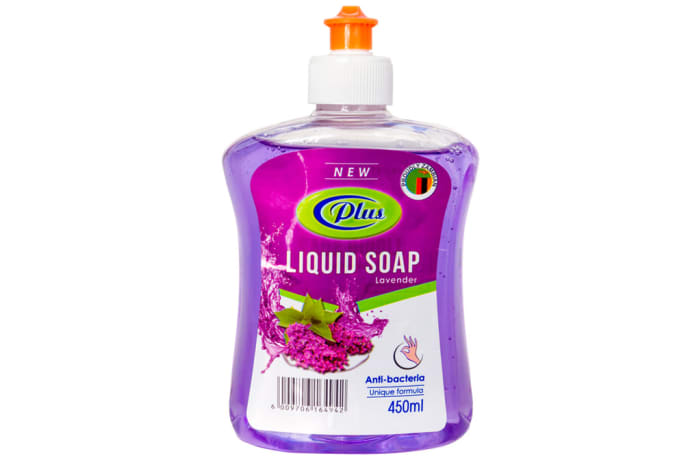 Plus Anti-bacterial Liquid Soap Lavender