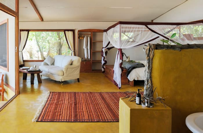 Potato Bush Camp - Safari Tents & Family House - Lower Zambezi National Park