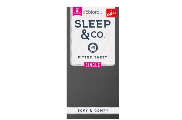 Single size Black Coloroll Sheets